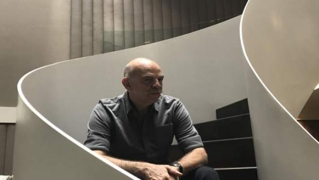 El escritor argentino Martín Caparrós