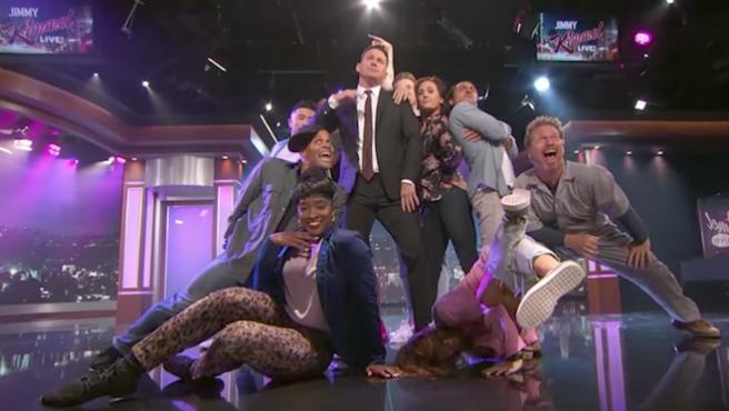 Vídeo del día: Un bailongo Channing Tatum se adueña del show de Jimmy Kimmel
