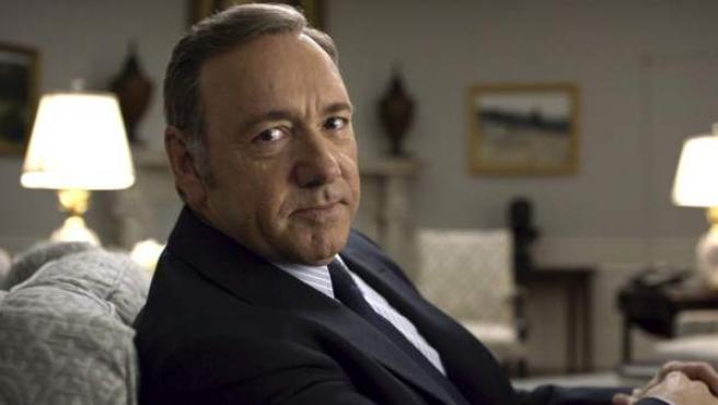 Kevin Spacey en una escena de 'House of Cards'.