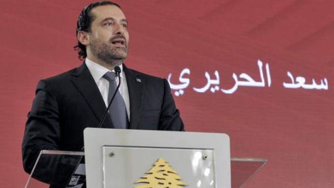 Saad Hariri dimite como primer ministro libanés.