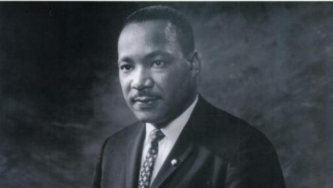 Fotografía de archivo sin fechar del Centro King de Atlanta, Georgia (EE UU) que muestra a Martin Luther King Jr.