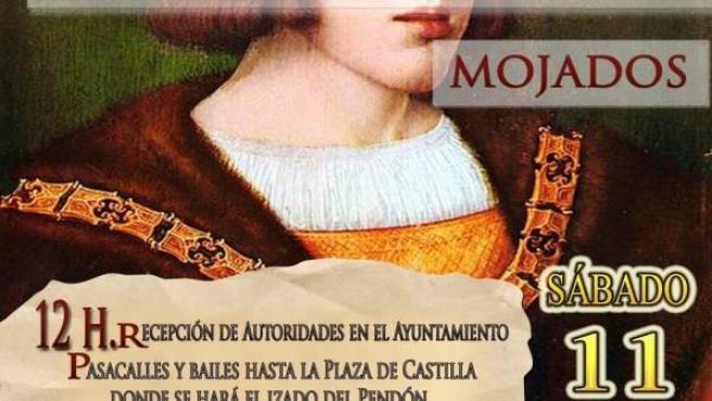 Valladolid.- Cartel que anuncia la inauguración del centro