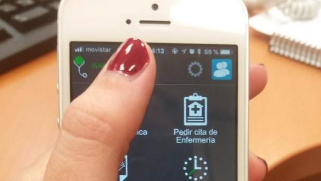 Aplicación móvil de Salud Responde.
