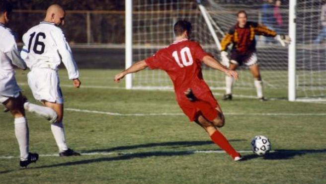 Imagen de un partido 'amateur' de fútbol.