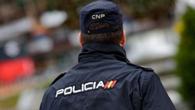 Imagen de un agente de Policía Nacional.