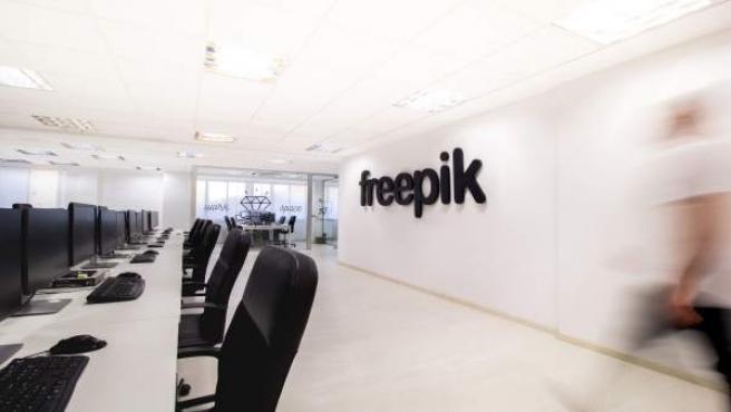 Instalaciones de la empersa malagueña Freepik en Málaga diseño tecnología líder