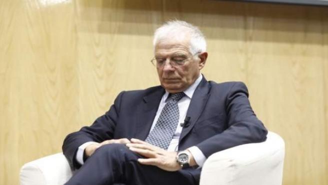 El expresidente del Parlamento Europeo Josep Borrell