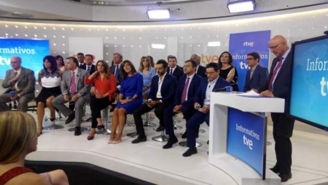 Equipo de Inofrmativos de TVE 2017-2018