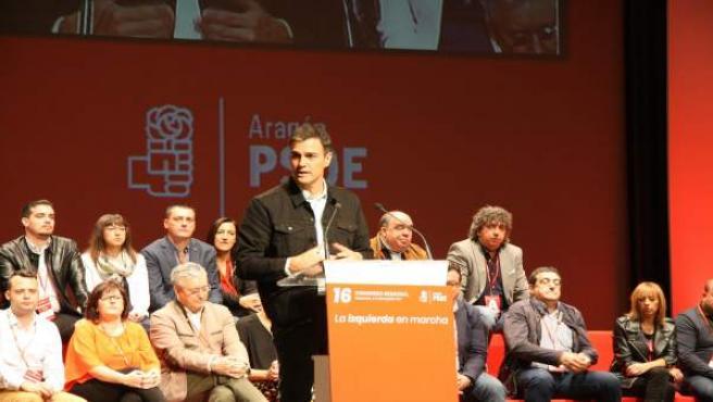 Pedro Sánchez en Zaragoza