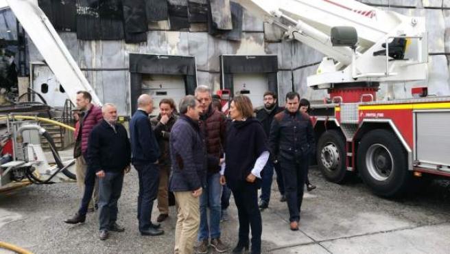 Ávila.- Marcos, durante su visita a la fábrica de Ornua