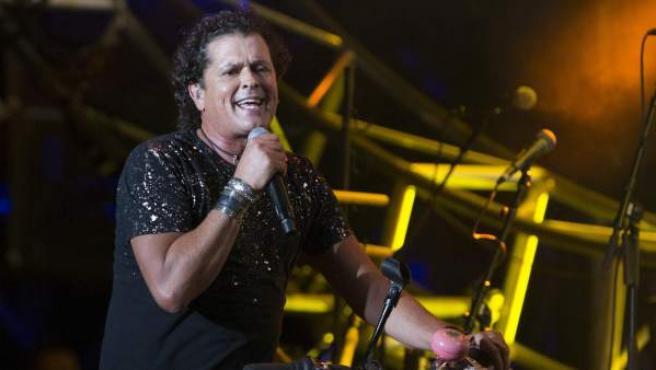 El artista colombiano Carlos Vives este fin de semana en el Festival Presidente, en Santo Domingo (República Dominicana)