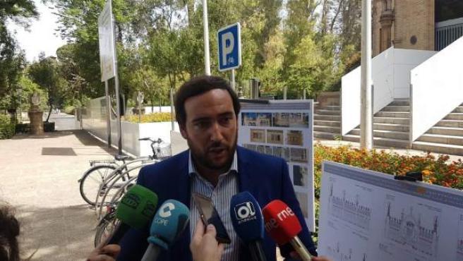 El portavoz adjunto de Cs en el Ayuntamiento de Sevilla, Francisco Moraga