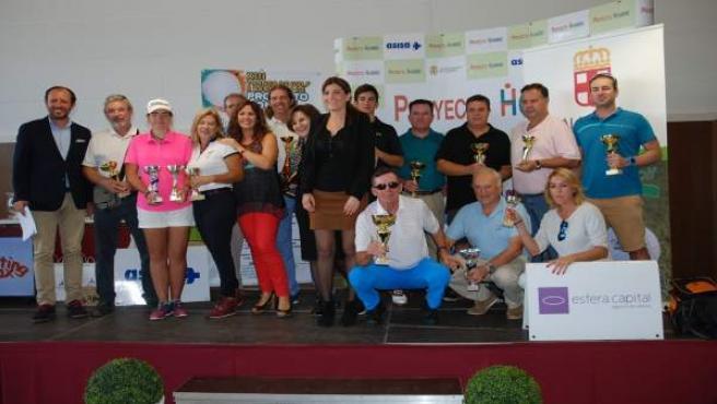Torneo benéfico de golf 'Proyecto Hombre' en Almería