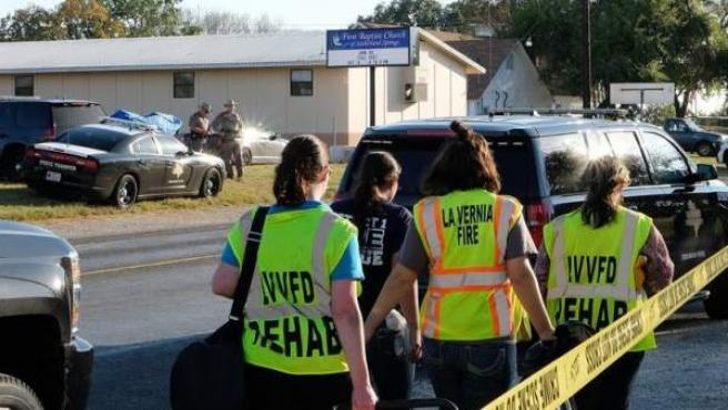 Imagen de varias agentes de la Policía de Texas.