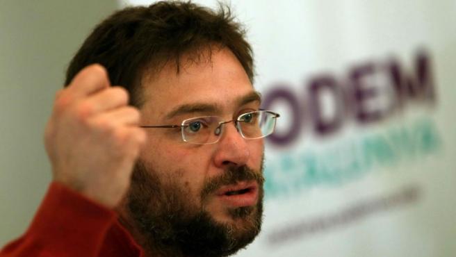 El exsecretario general de Podem Catalunya, Albano-Dante Fachin.