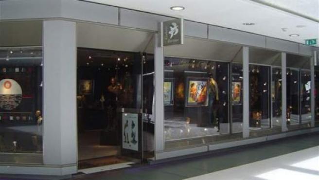 Exterior de la galería Bartoux en París.