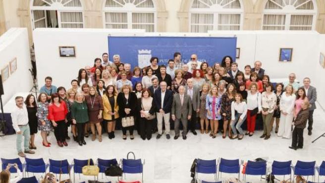 Un totalde 134 empleados laborales pasan a ser funcionarios de la Diputación.