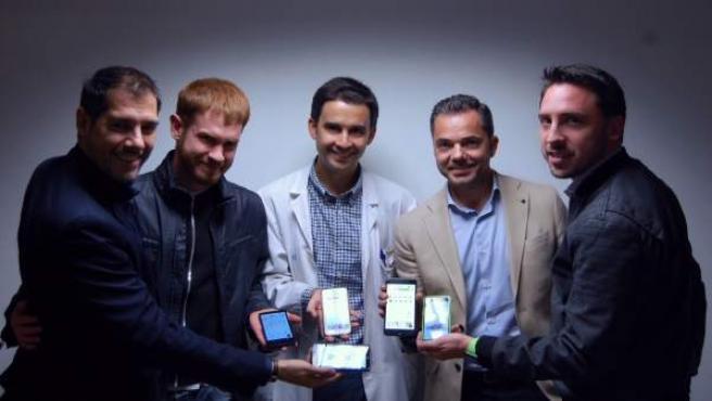 El equipo que ha creado esta app para prevenir la obesidad infantil