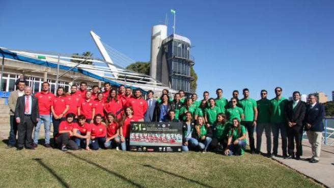 Presentación de la LI Regata Sevilla-Betis de remo