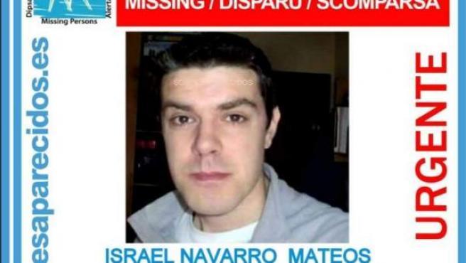 Israel Navarro, desaparecido en la estación de tren de Alcalá.