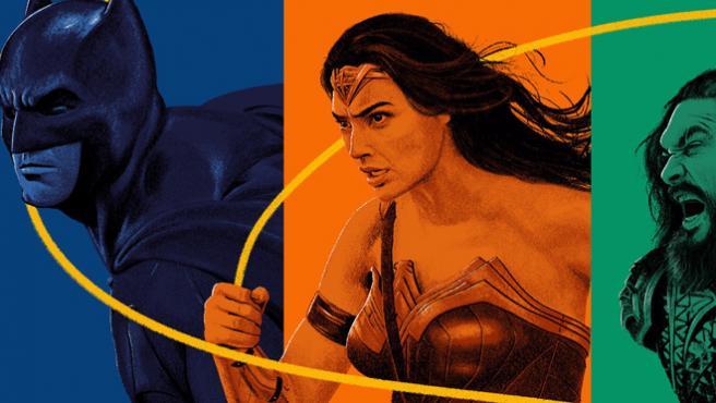 'Liga de la Justicia' se convierte en una obra de arte