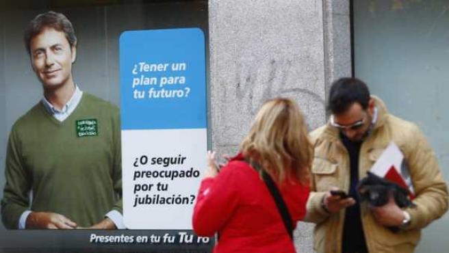 Las entidades financieras y de seguros aumentan las promociones sobre planes de pensiones.