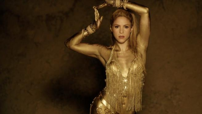 La cantante Shakira, en una imagen promocional de su último disco.