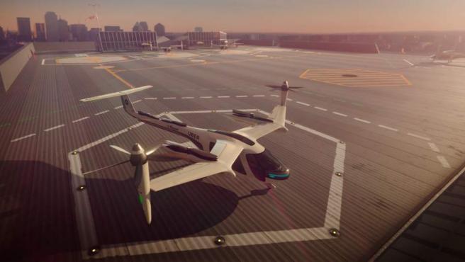Así será la aeronave que utilizará Uber para su servicio de taxi denominado uberAIR.