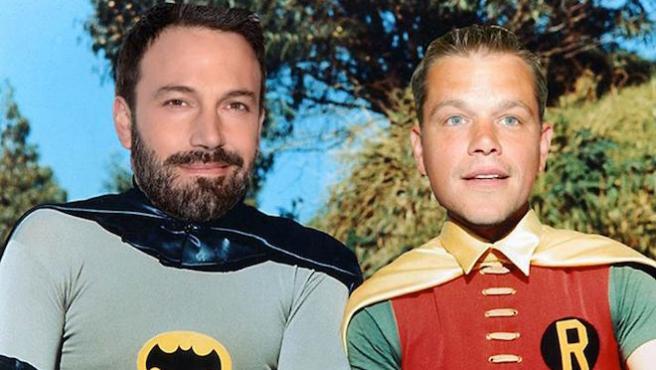 Ben Affleck y Matt Damon pudieron ser el Robin de Tim Burton en 'Batman'