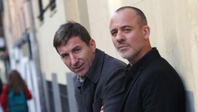 Los actores Antonio de la Torre y Javier Gutiérrez, protagonistas de 'El autor'.