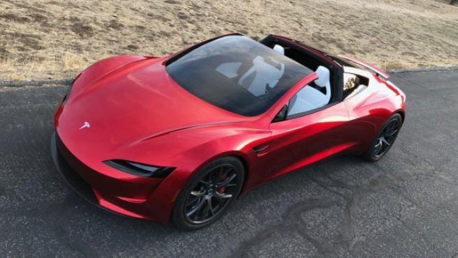 Un modelo Tesla.