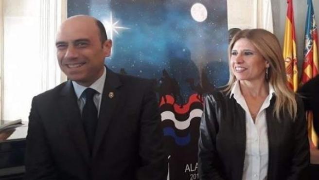 Gabriel Echávarri i Eva Montesinos
