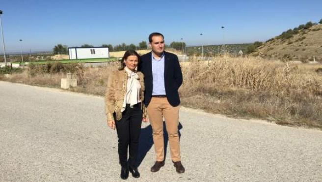 Ana Cobo y Juan Latorre