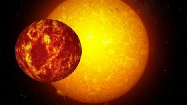 Científicos del IAC (Instituto de Astrofísica de Canarias) han participado en el descubrimiento de un planeta extrasolar inusualmente denso, con 1,5 radios terrestres, pero ocho veces más masivo que la Tierra.