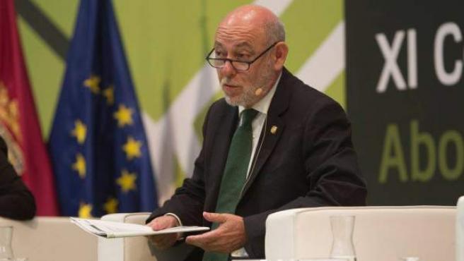 El magistrado José Manuel Maza, en el XI Congreso Nacional de la Abogacía.