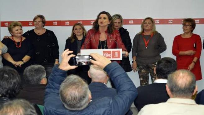 Mercedes Caballero gana las primarias para la secretaría general del PSPV