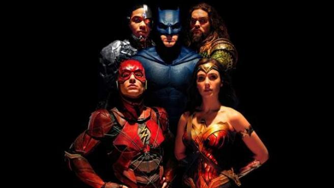 Los superhéroes protagonistas de DC Comics en 'Liga de la Justicia'
