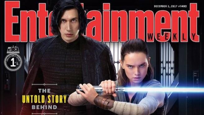 'Star Wars: Los últimos Jedi': Cuatro portadas galácticas en 'Entertainment Weekly'