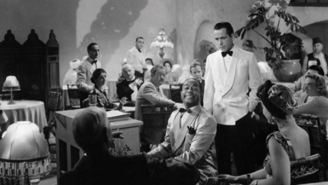 """Una imagen esencial de """"Casablanca"""", según el libro Los momentos que hicieron el cine"""