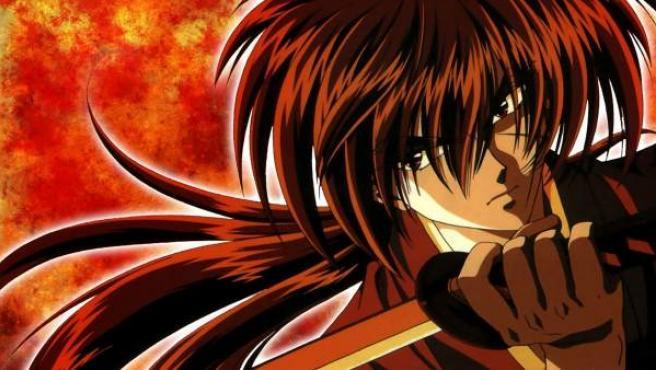 Kenshin Himura, el famoso guerrero samurái.
