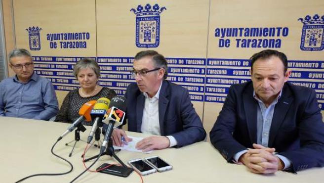 Beamonte ha dado a conocer la inversión que realizará esta empresa en Tarazona