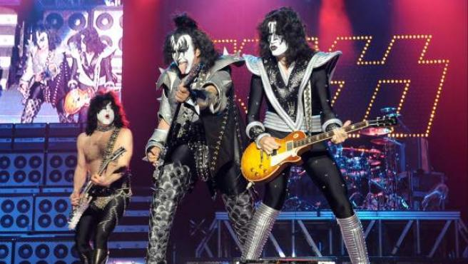 El grupo de 'metal' Kiss.