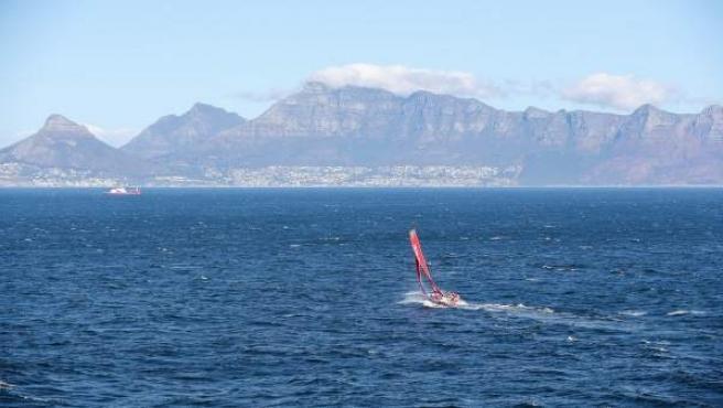 El MAPFRE en su llegada a Ciudad del Cabo