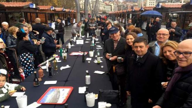 IV Fiesta del Primer Aceite de Jaén en Bilbao