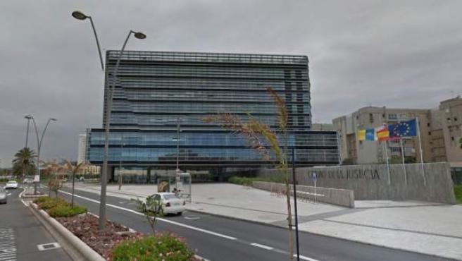 Imagen de la sede de la Ciudad de la Justicia de Las Palmas de Gran Canaria.
