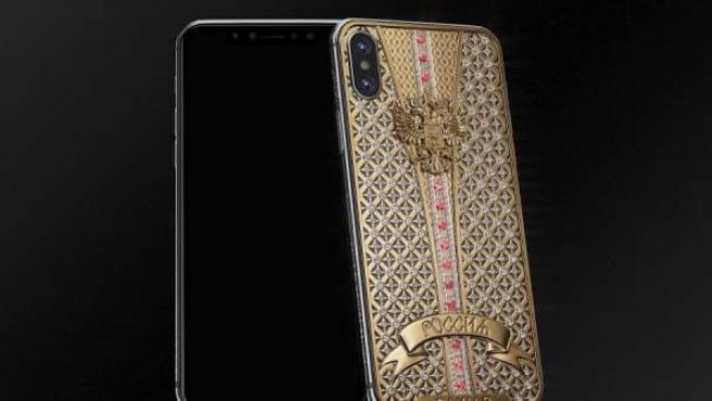 Imagen del iPhone X Imperial Crown.