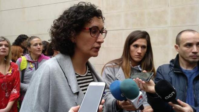 La secretaria general de ERC, Marta Rovira.