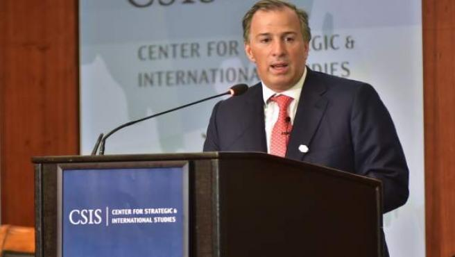 El ministro de Hacienda de México, José Antonio Meade.