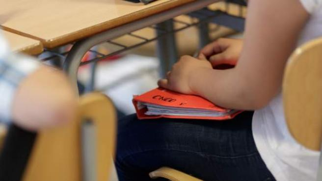 Imagen de archivo de una clase de secundaria.