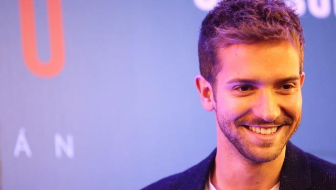 El cantante y compositor Pablo Alborán durante una entrevista para 20minutos.